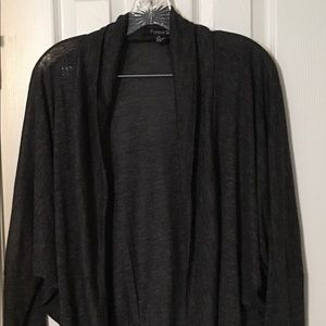 Forever 21 Women's Jacket size Large Gray Blazer